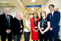 Image of the Winter Respiratory team at St Helier Hospital