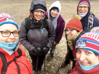 'And I would walk'... all the way round the Isle of Wight – midwives take on challenge