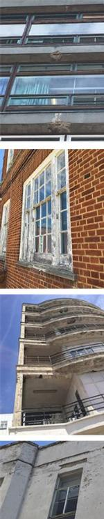 Corrosion, rotting windows and wear on the outside of some of our buildings at both Epsom and St Helier hospitals