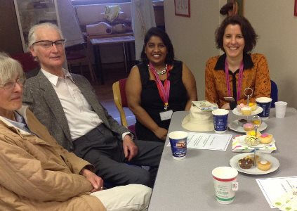 The Palliative Care team were joined by guests at the 'I Did it My Way' Cafe event