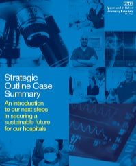 Image of the cover of the strategic outline case summary document