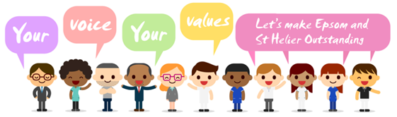 Your Voice, Your Values logo