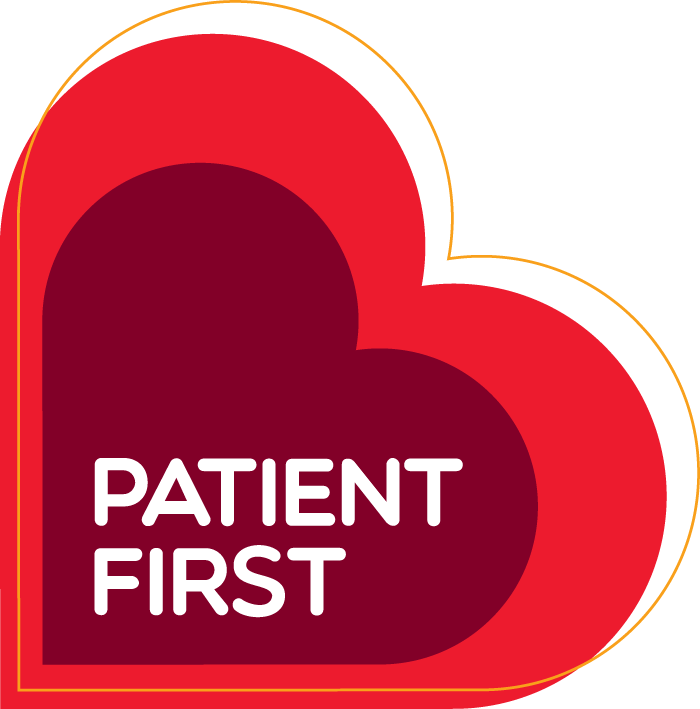 Patient First logo