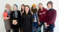 Students from Wimbledon College of Art visit St Helier